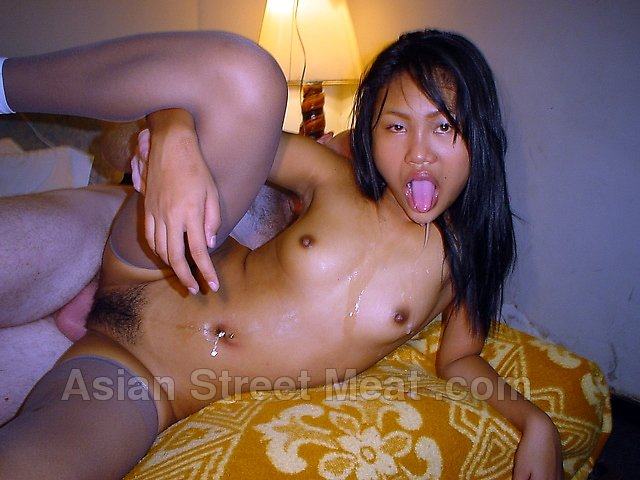 Asian cum slut loves big dildo play before hard doggy style fucking